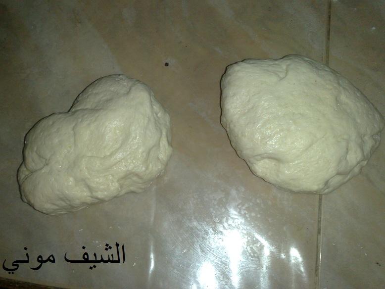 دافي لمدة ساعه وهنحضر حشوة الزعتر في اناء هنحط كل