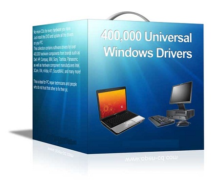400.000 Universal Windows XP Vista Drivers