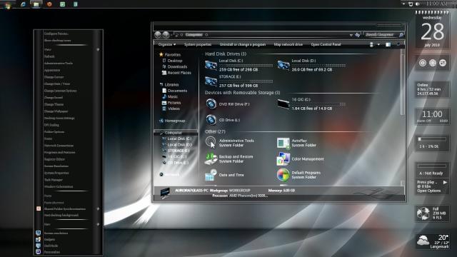 Windows 7 Transformation Pack AIO l 489.25 MB