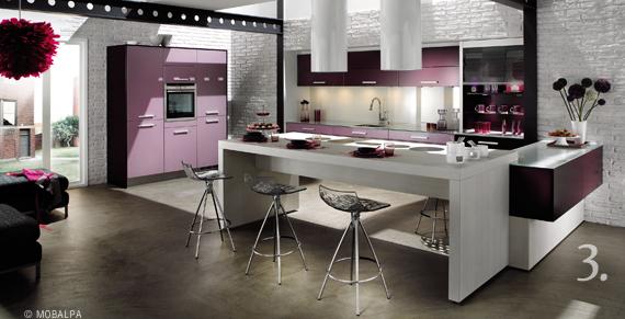 photos de cuisine contemporaine - Les Plus Belles Cuisines Contemporaines