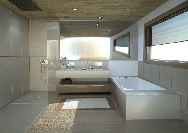 Photos de salle de bains design - Salle de bain contemporaine photo ...
