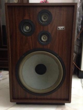 Jensen model 50 15 inch floorstand speaker used for 15 inch floor speakers