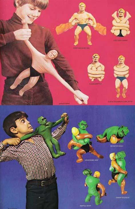 bonhomme elastique jouet