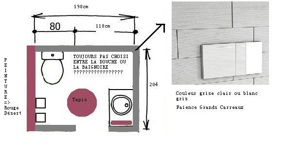 Tessychou sdb wc 4m petit spa zen page 2 for Douche dans une chambre