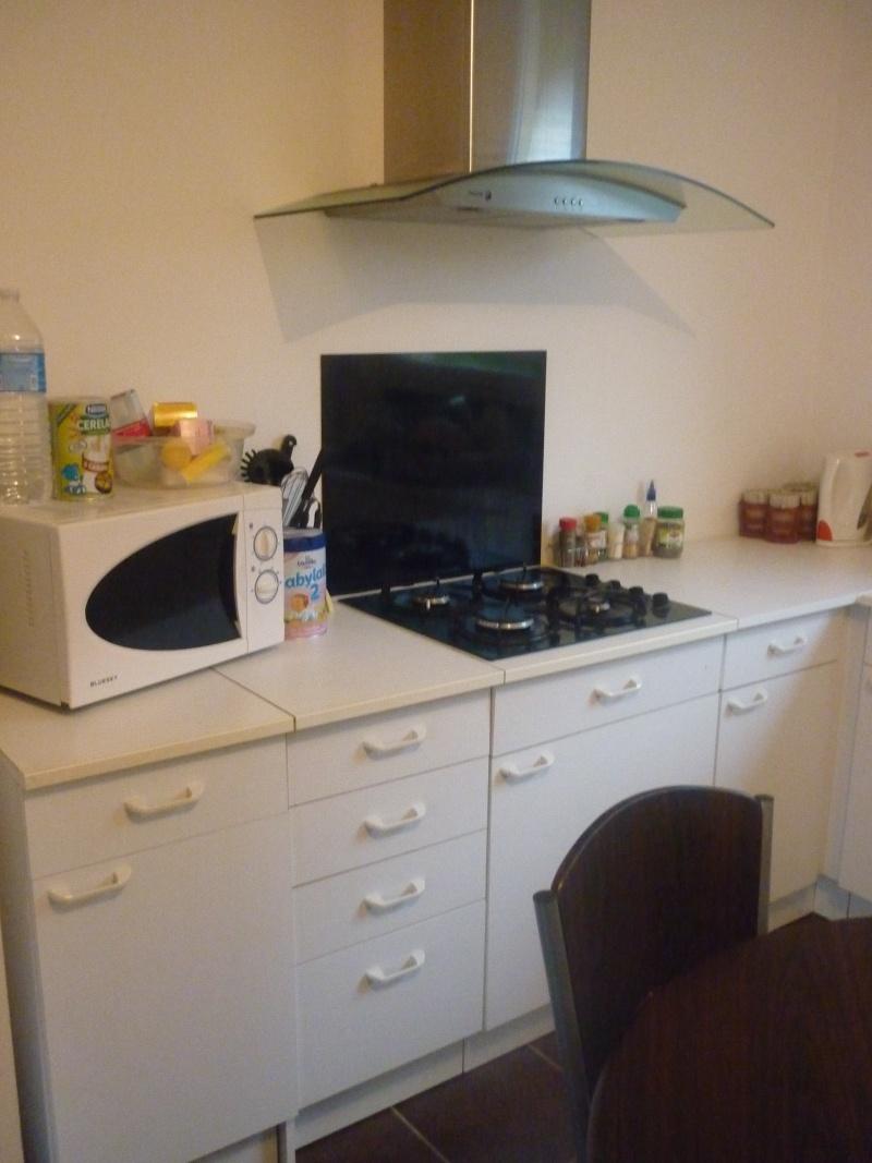 Relloker les meubles de cuisine m lamin blanc - Repeindre meubles de cuisine melamine ...