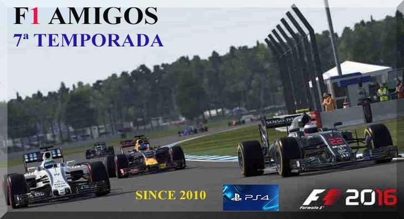 CAMPEONATOS F1 AMIGOS  PS4 ONLINE