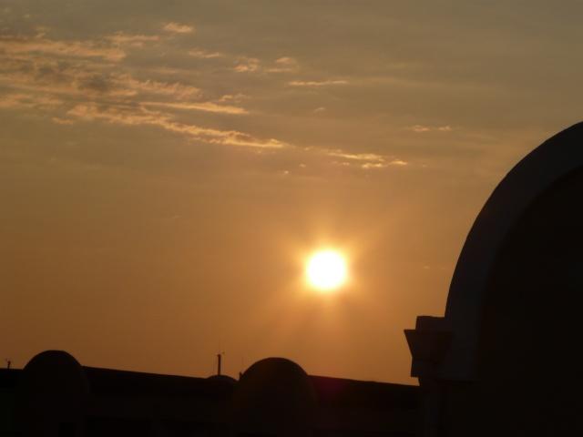 Un lever de soleil d'une fin d'été dans GRUISSAN p1200610