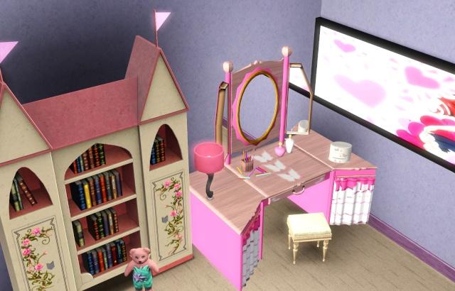 Atelier de construction de maison pour d butant sims 3 page 16 for Chambre fillette 12 ans