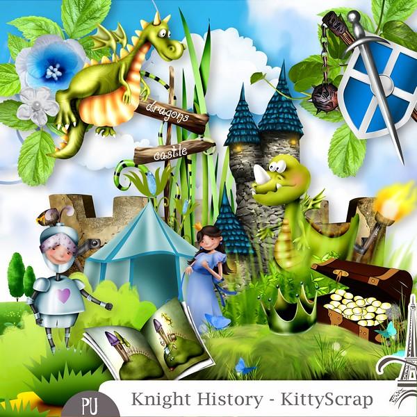 Kinght history de Kittyscrap dans juin previe16