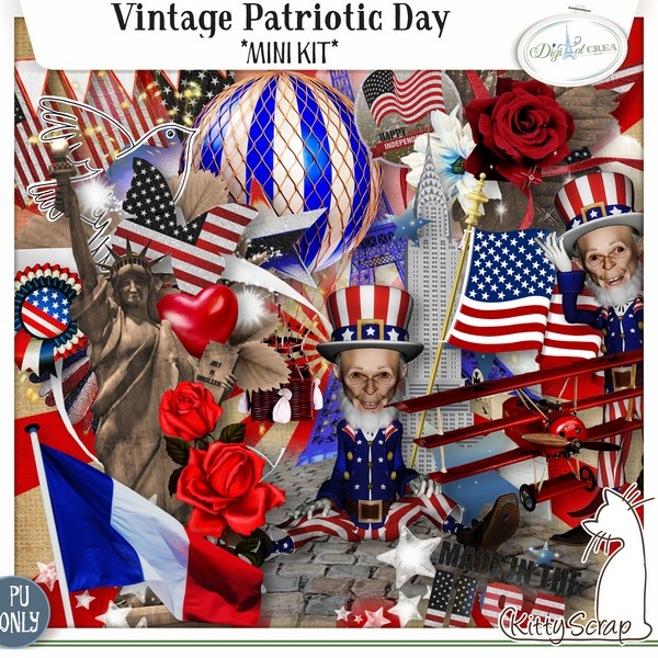 Vintage patriotic day de Kittyscrap dans Juillet previe17