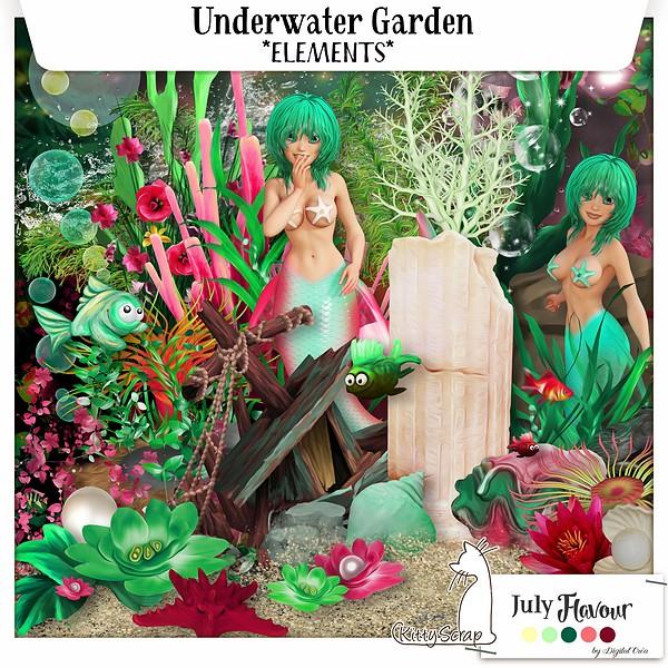 Underwater garden de Kittyscrap dans Janvier previe25