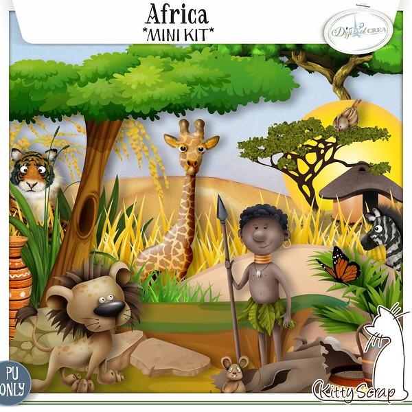 Africa de Kittyscrap dans Août previe37