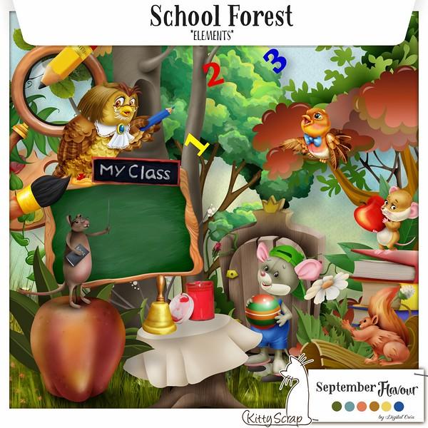Scool forest de Kittyscrap dans Septembre previe39