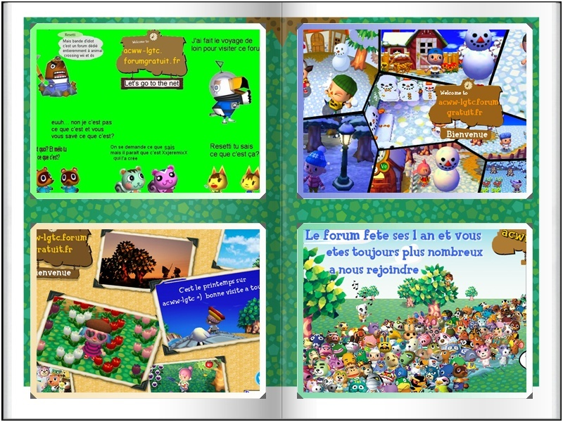 Bienvenue sur le forum 100% animal crossing wii, ds et 3ds