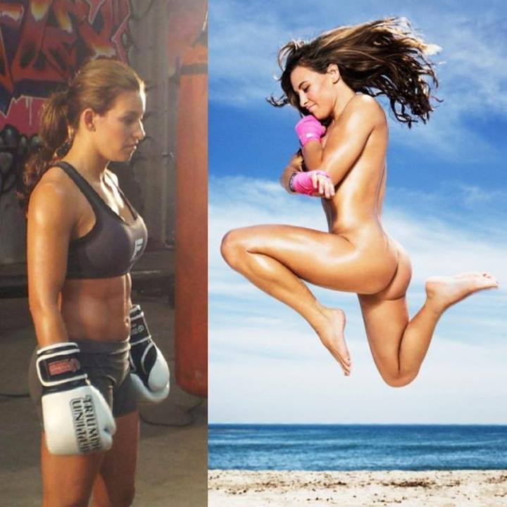 Miesha tate s photo from espn magaizine s quot the body issue quot