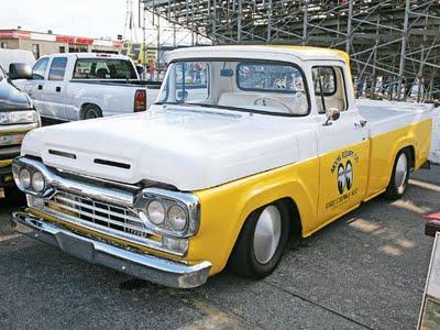 Trail finder 2 ford f100 camper for Garage ford cholet
