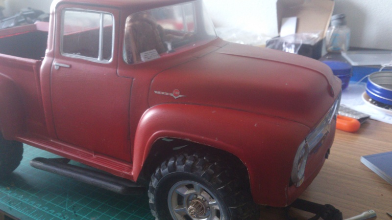 Ford f100 farm style for Garage ford cholet