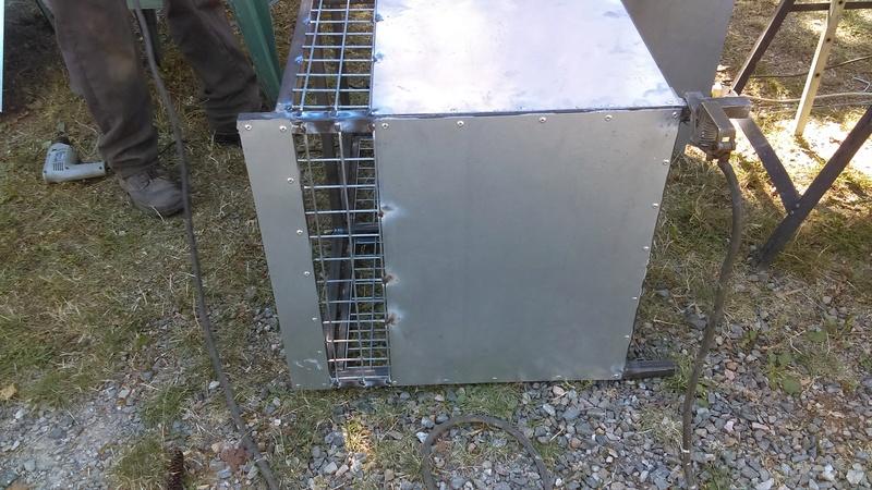 Fabrication caisse chien pour maverick - Fabrication glue pour chasse ...