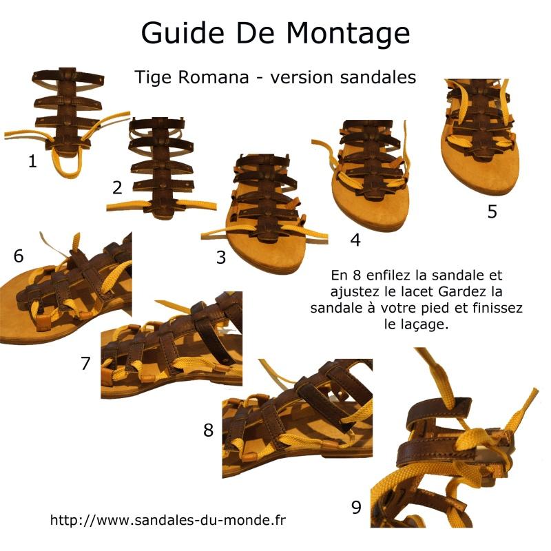 Tige Romana - version sandales