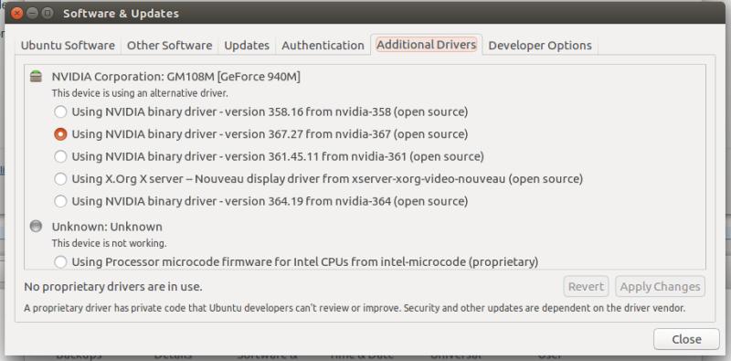 ubuntu] Can't activate Nvidia GPU on dual boot, dual GPU