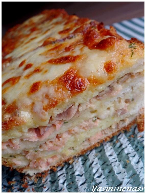 Croque Cake Au Thon A L Oree Des Douceurs