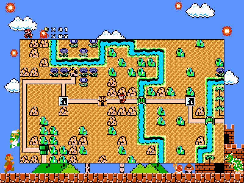 SMBX NES Mod (Alpha Release) - New Super Mario Bros  X