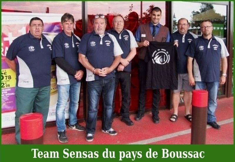 Team Sensas du pays de Boussac