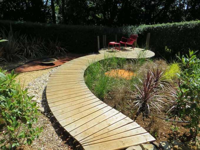 Verfeil sur seye 82330 - Passerelle en bois pour jardin ...