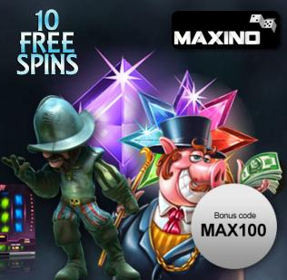 Maxino 10 free spins