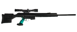 PSG1-T Automatic Tranquilizer Sniper Rifle