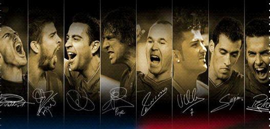 نحن البرشا.نحن ملوك كره القدم