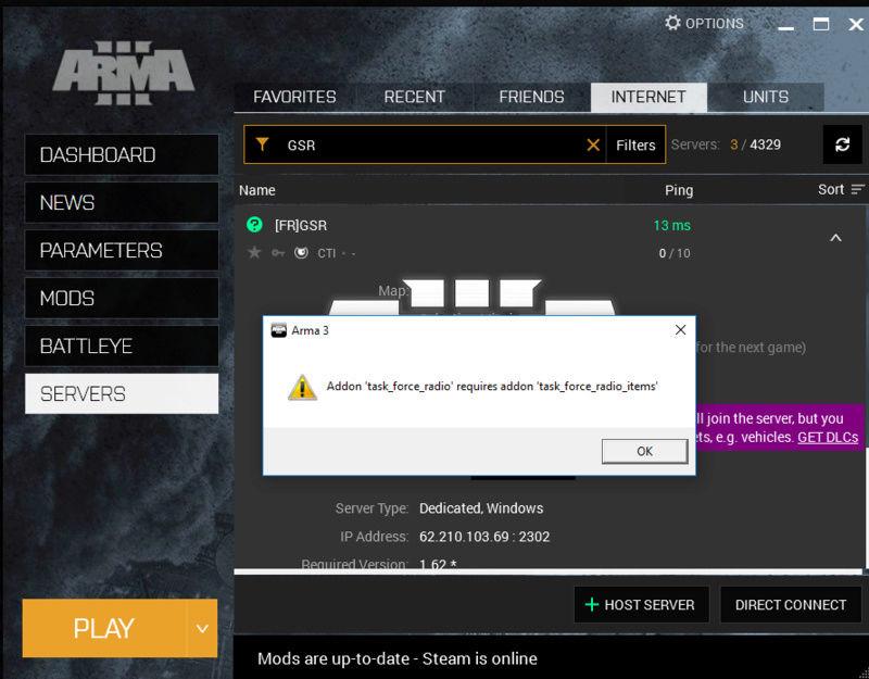 Arma 3 dedicated server instances f