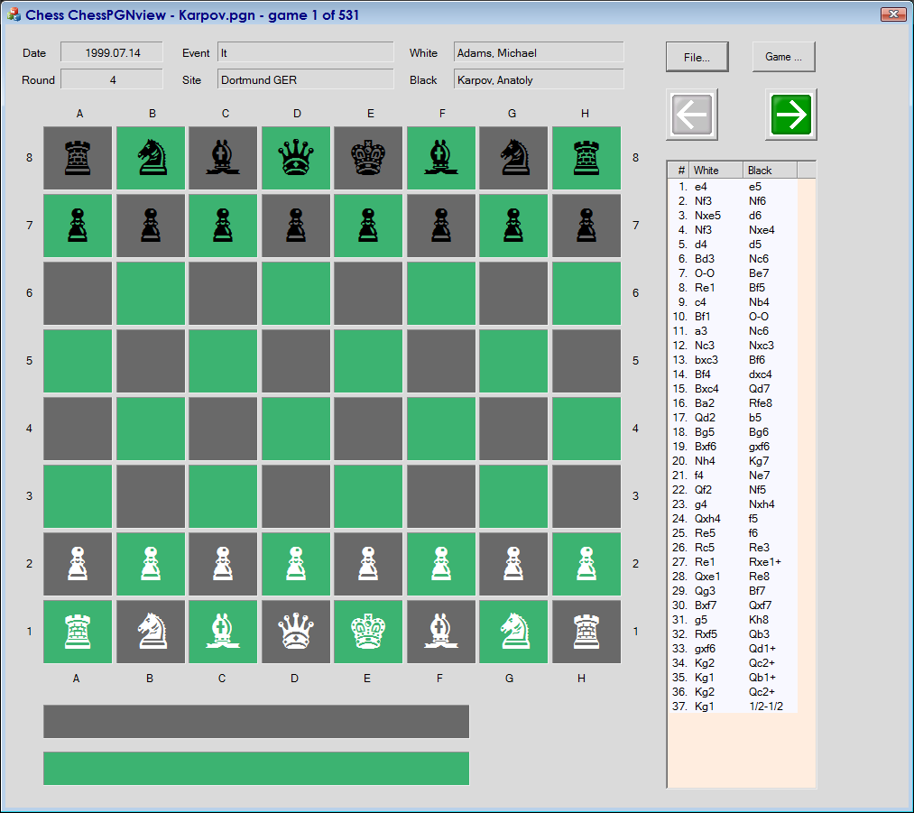 Chess Console Game in C++ - CodeProject