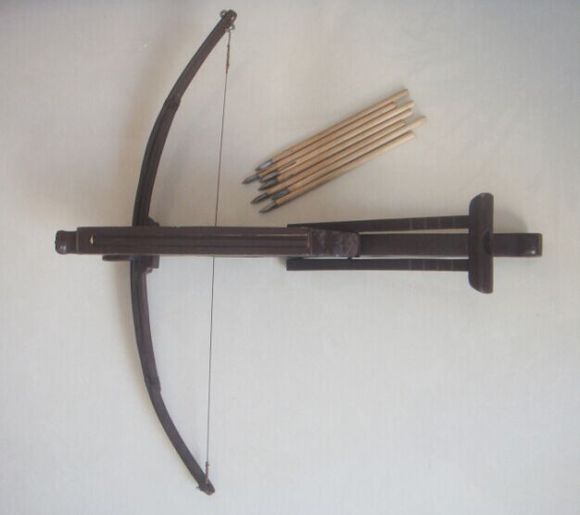how to make a chinese repeating crossbow