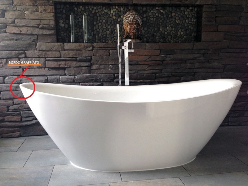 Vasca Da Bagno Freestanding Jazz Bs 827 Bianco : Vasca da bagno idromassaggio in acrilico linea mode gruppo geromin