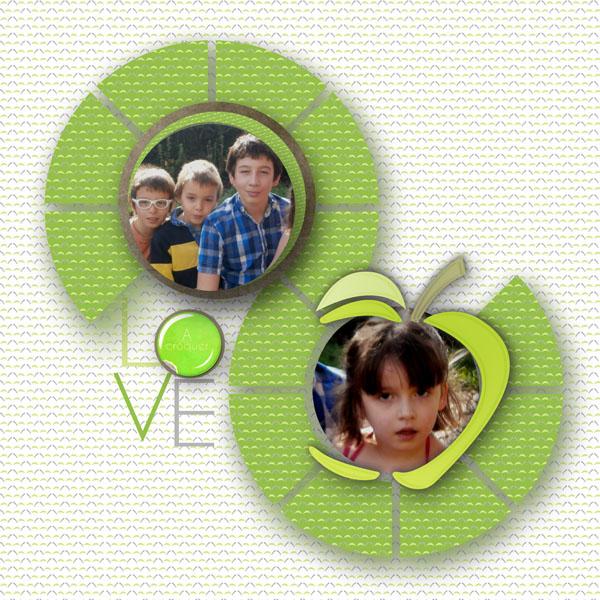 mosaiques template simplette page galadriel kit de 100drine love you more