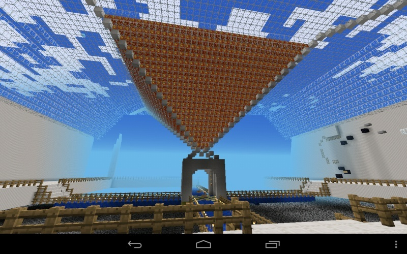 Ideas on what to build in minecraft pe