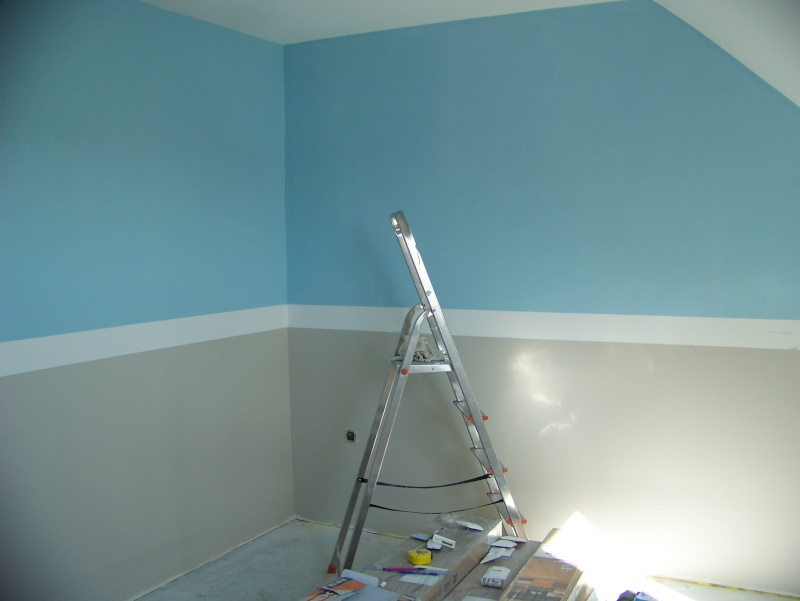 Comment peindre les murs avec 4 couleurs - Comment peindre un mur en 2 couleurs ...