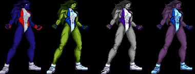 She Hulk by Cravd, Arkady, - Downloads - The MUGEN ARCHIVE