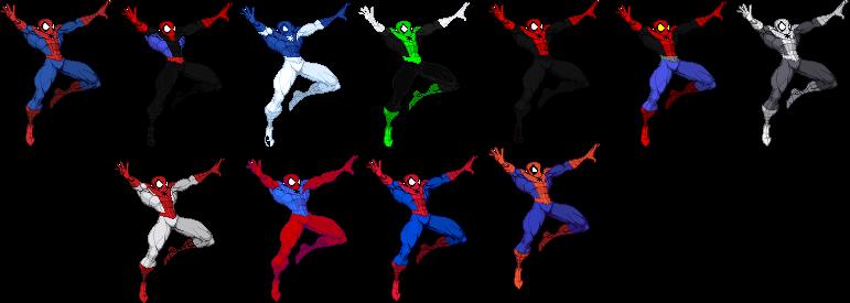 Spider-Man originally by Seth Zanku - Downloads - The MUGEN ARCHIVE