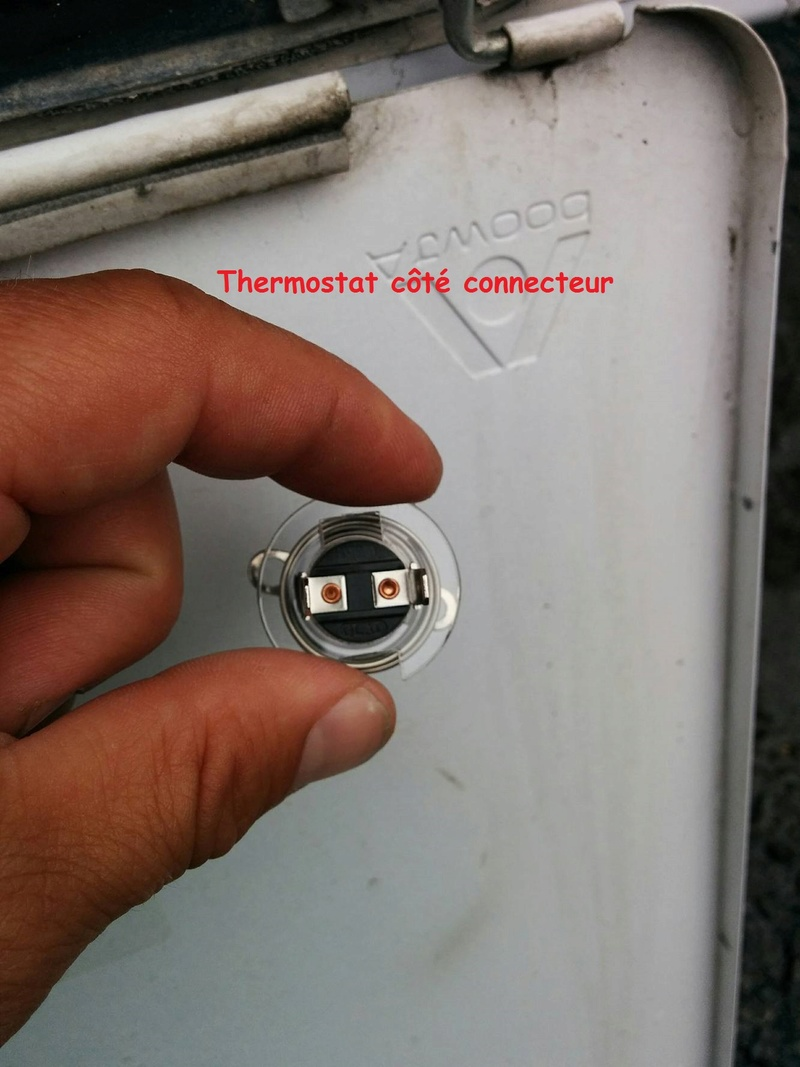 Probl me chauffe eau atwood for Probleme thermostat chauffe eau