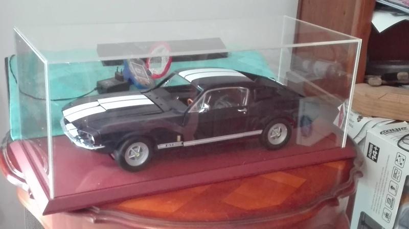 Montage De La Mustang Shelby De Chez Altaya