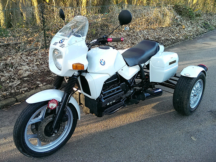 my beautiful bmw k100 trike. Black Bedroom Furniture Sets. Home Design Ideas