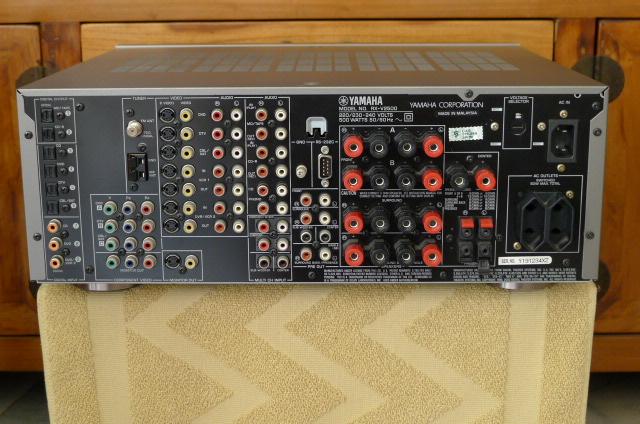 Yamaha rx v2500 av receiver used sold for Yamaha receiver customer support phone number