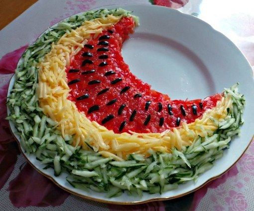 лучшие необычные рецепты салатов с фото оформлением