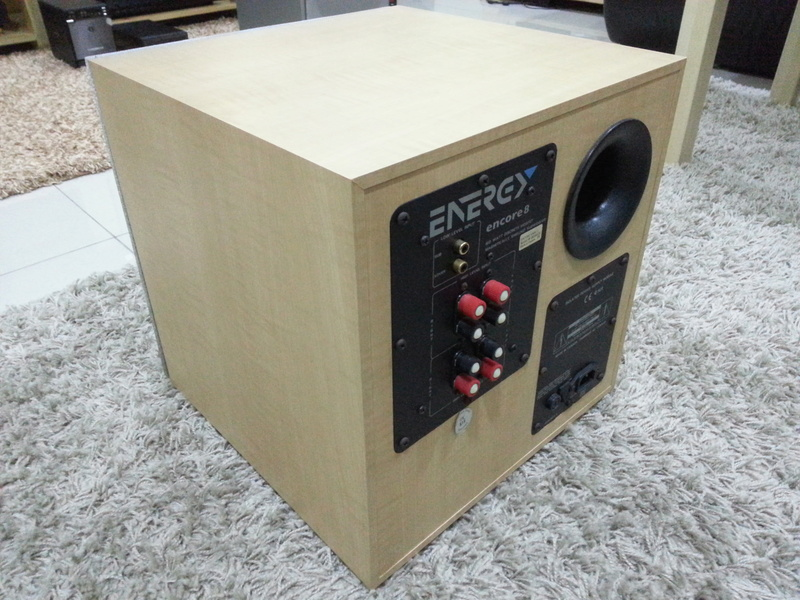 Energy Encore 8 Subwoofer Sold