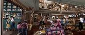 Niveau 5 : Salon de thé et boutiques