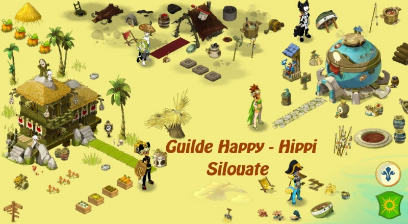 Guilde Happy Hippi Serveur Silouate.