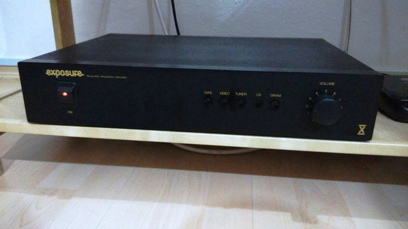 Exposure X (10) Regulated Integrated Amplifier (Sold)