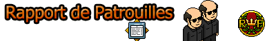 Rapport de Patrouille.